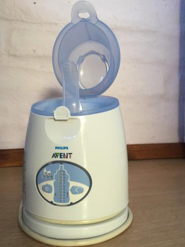 calentador de biberones y comida para bebé
