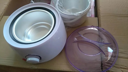 calentador de cera+500 g cera española , envio incluido