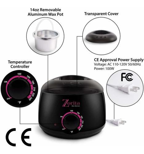 calentador de cera portátil / olla para depilar