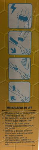 calentador de cera roll on para depilar
