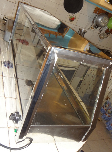 calentador de empanadas electrico acero inoxidable usado