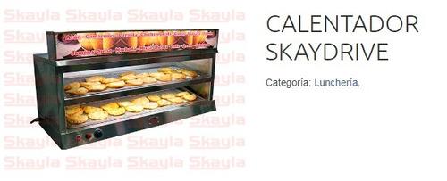 calentador de empanadas, tipo gourmet skyla
