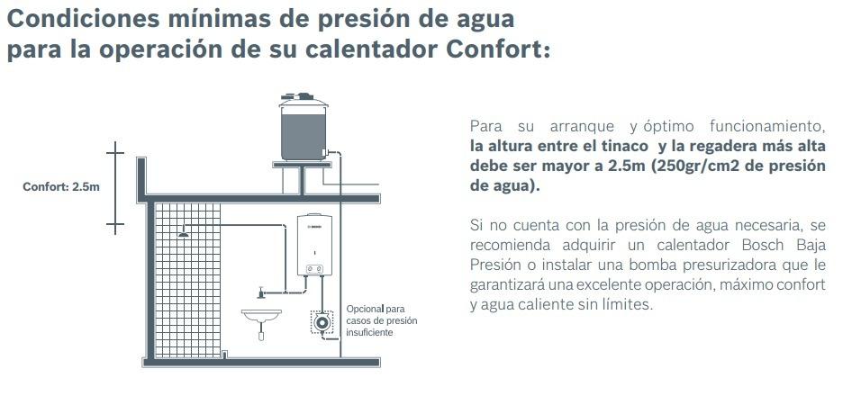 Calentador De Paso Instant 225 Neo Bosch Confort 13 L