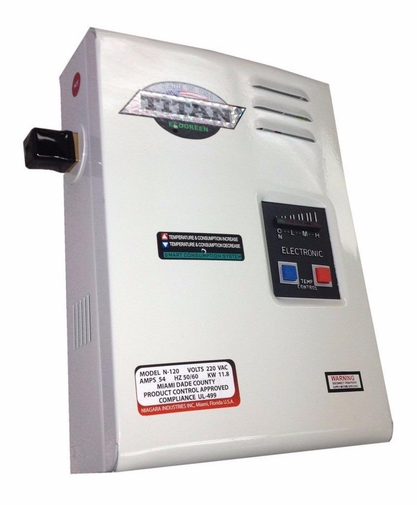 Calentador electrico de agua titan scr2 n120 made in usa for Mueble para calentador de agua
