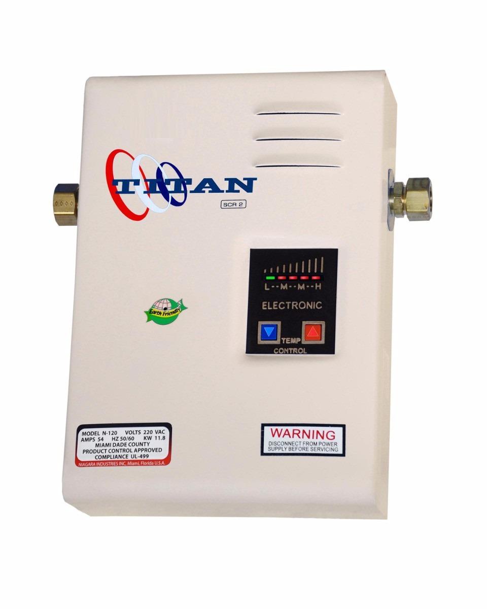 Calentador electrico de agua titan scr2 n120 made in usa - Calentador electrico de agua precio ...