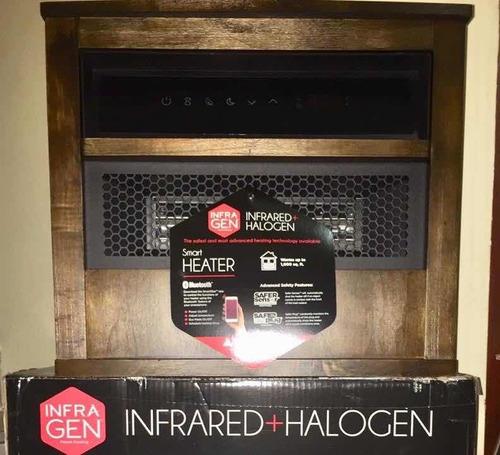 calentador eléctrico infrarrojo y halógeno
