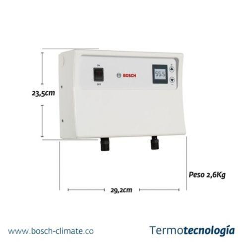 calentador electrónico tronic termo capacidad 6,9 litros hc.