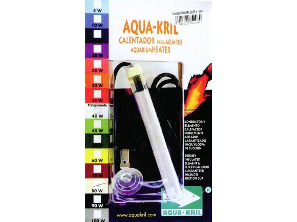 Calentador fijo para acuarios de 5 a 35 litros for Calentador acuario