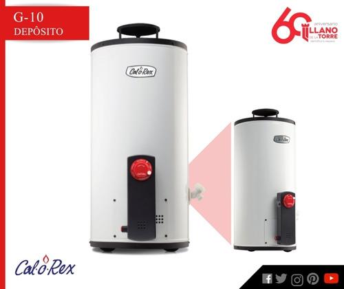 calentador g-10 gen 2 gas l.p. 38 lts