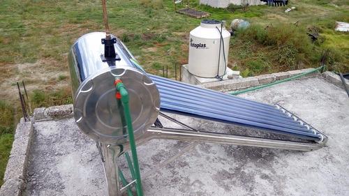 calentador inoxidable novosol 4p12 tubos 150lt 12msi
