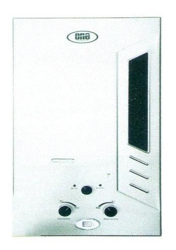 calentador instantaneo a supergas 12l one 1 año de garantia!
