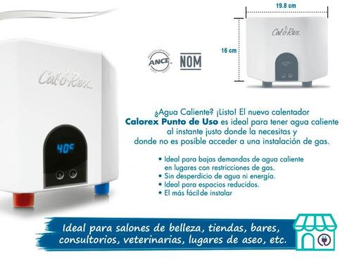 calentador instantáneo eléctrico de 3500w calorex cox-ie 35
