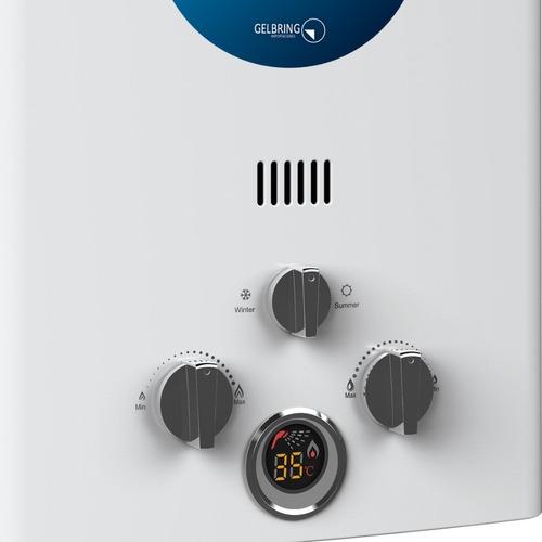 calentador instantaneo gas enxuta 6 lts 3 años gtia futuro21