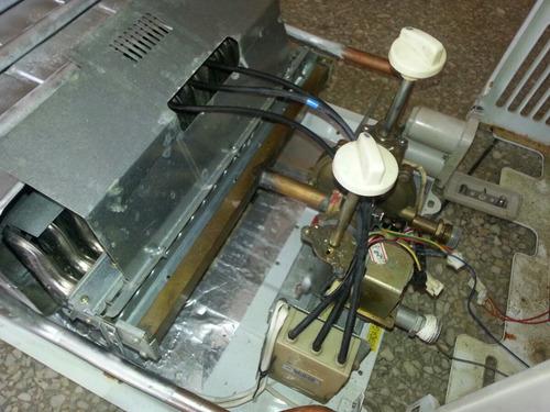 calentador kronos  a gas 16lts/min excelentes condiciones