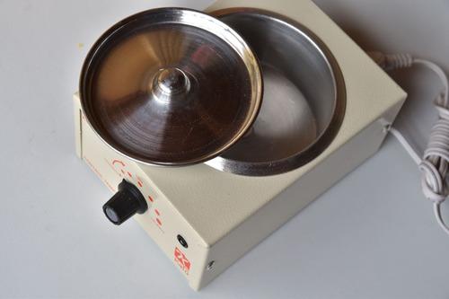 calentador olla cera + cera depilatoria 100gr + aplicadores