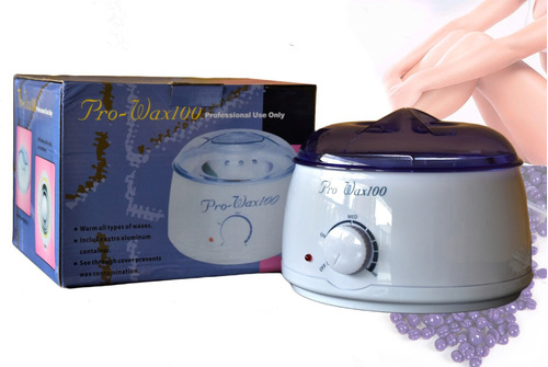 calentador olla cera depilatoria pro wax 500gr control tempe