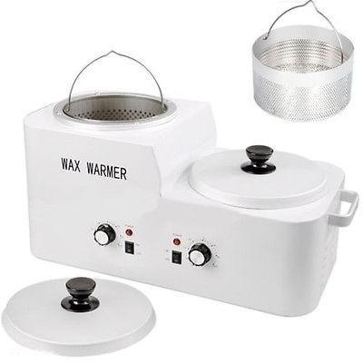 calentador / olla de cera depilatoria con colador / 6 kilos