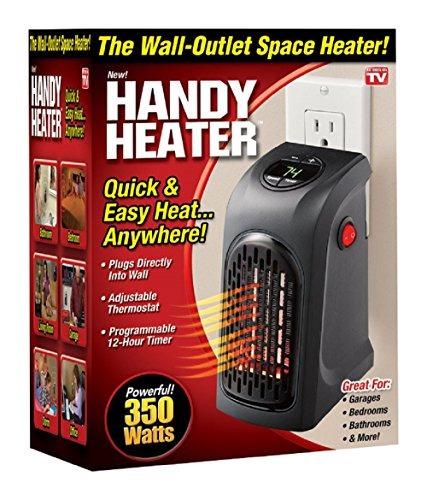 calentador ontel portatil de 350 vatios