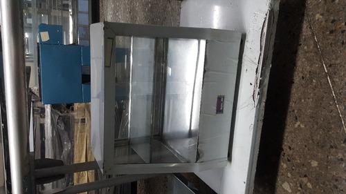 calentador para empanadas v/p elect o gas, nuevo con garan