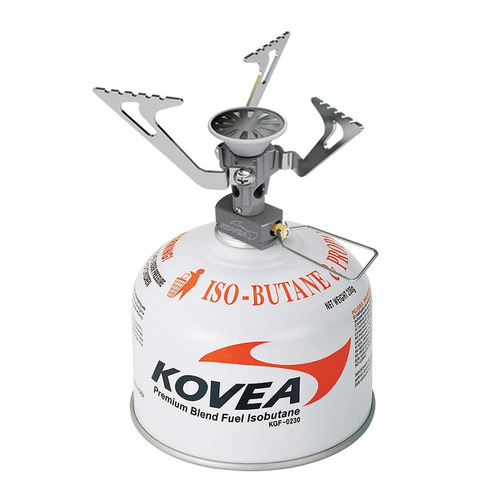 calentador portable plegable camping kovea flame tornado
