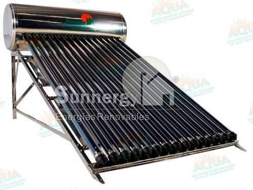 calentador solar 176 litros 15 tubos