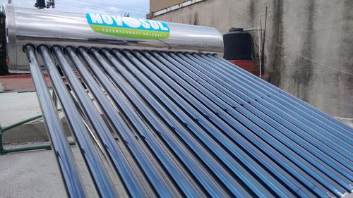 calentador solar 20 tubos 240 litros 6-8 personas