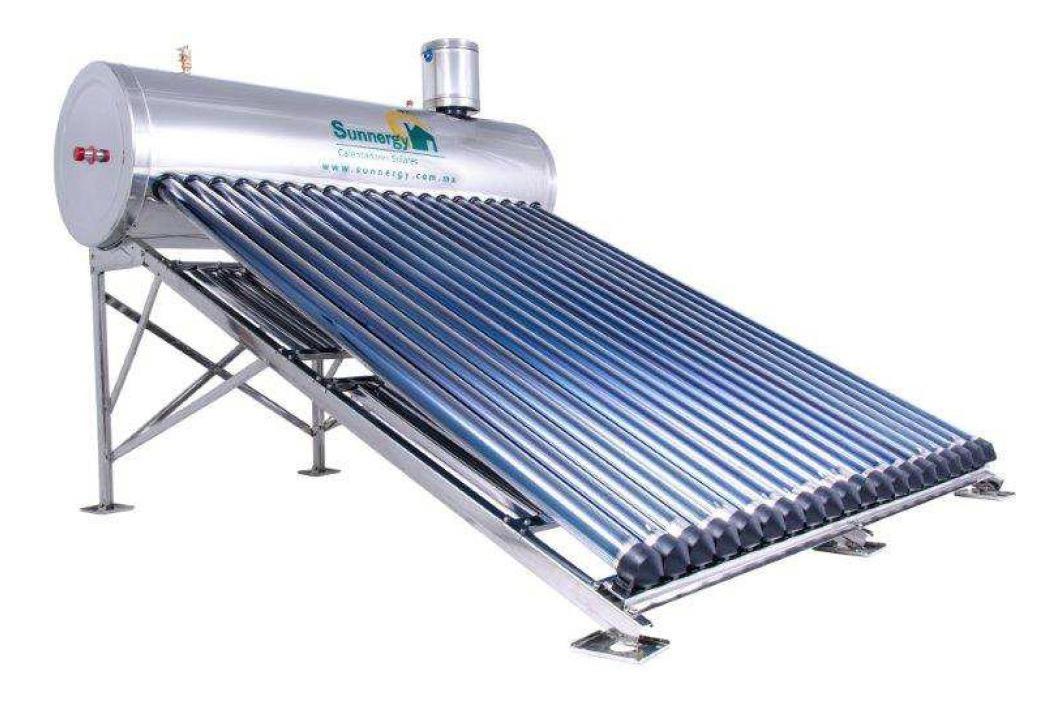 Calentador Solar Alta Presión 20 Tubos - $ 16,990.00 en..