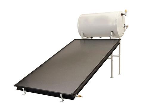 calentador solar de agua 150 lt. con vidrio templado