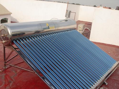 calentador solar enver agua caliente gratis ahorra gas energ