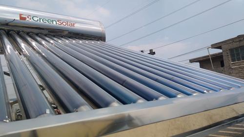 calentador solar greensolar 14 tubos 165 litros