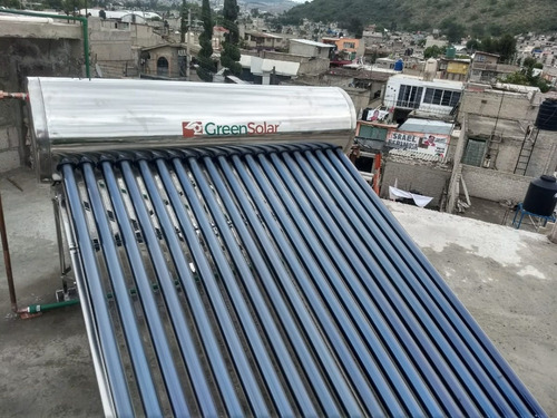 calentador solar greensolar 20 tubos 240 litros