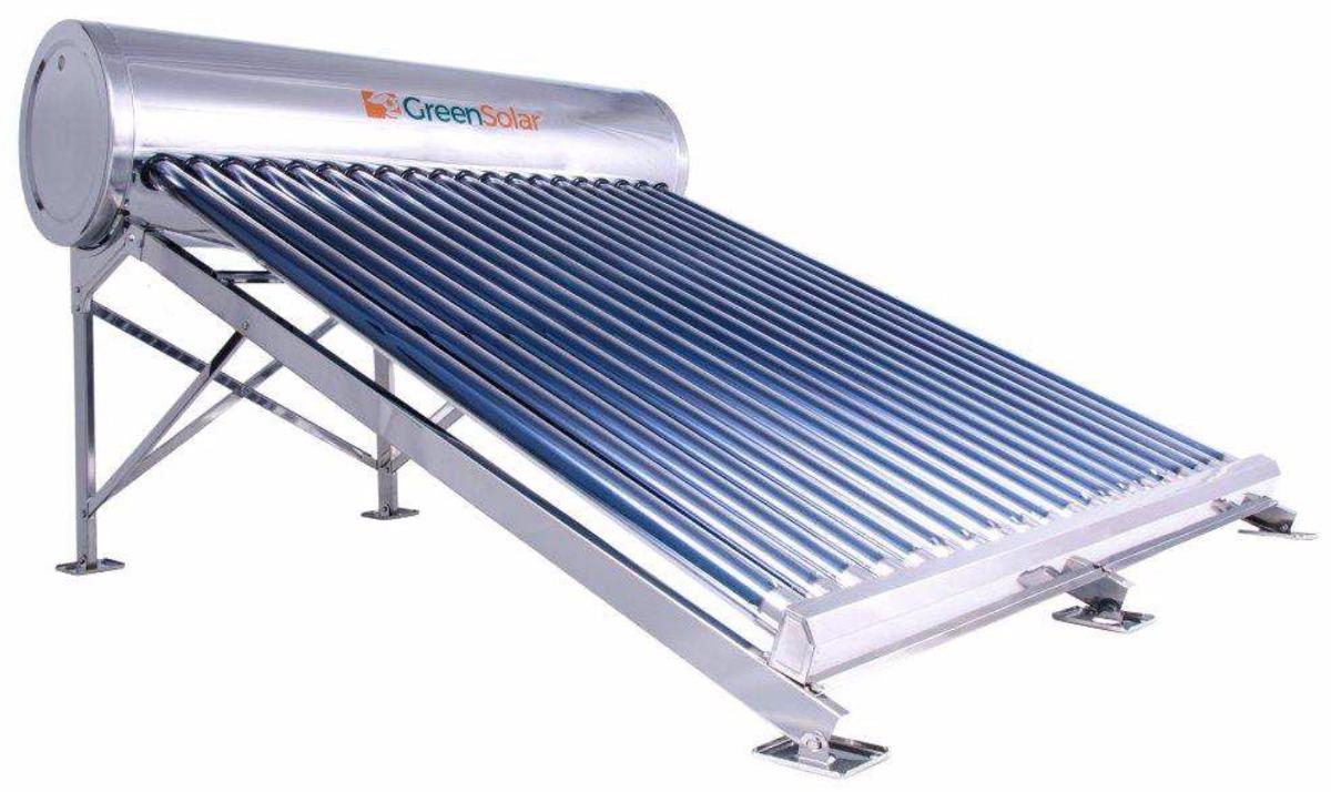 Calentador Solar Greensolar 240 Litros 20 Tubos 6 975