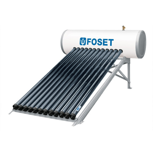 calentador solar heat pipe, 150l, 12 tubos, 4 personas,