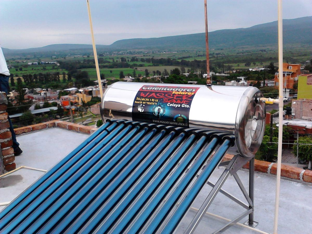 Calentador solar instalado y con garant a de 25 a os en - Cuanto cuesta un calentador de gas ...