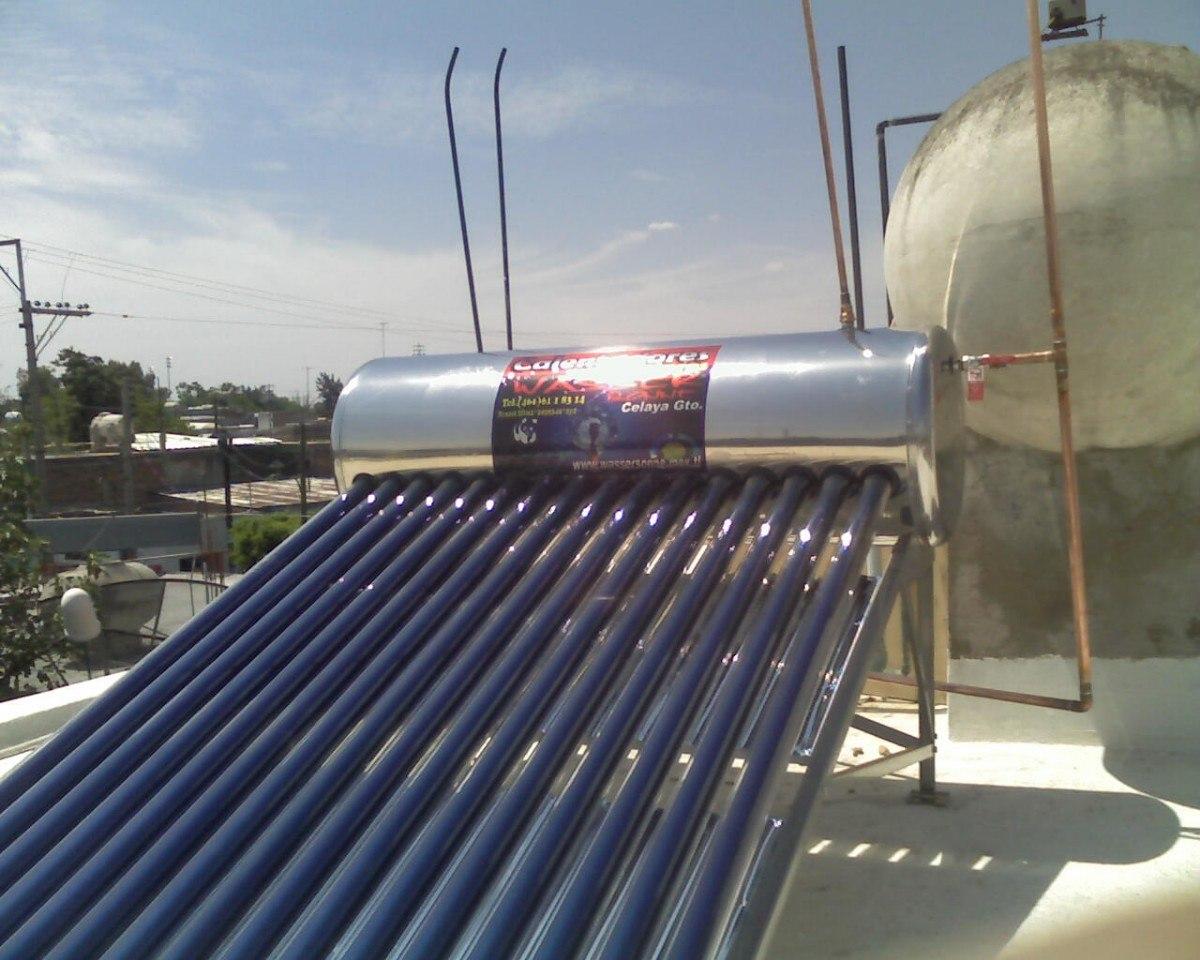 Calentador Solar P 6 Personas Instalado 25 A 241 Os De