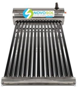calentador solar para 5 personas novosol 15 tubos cdmx