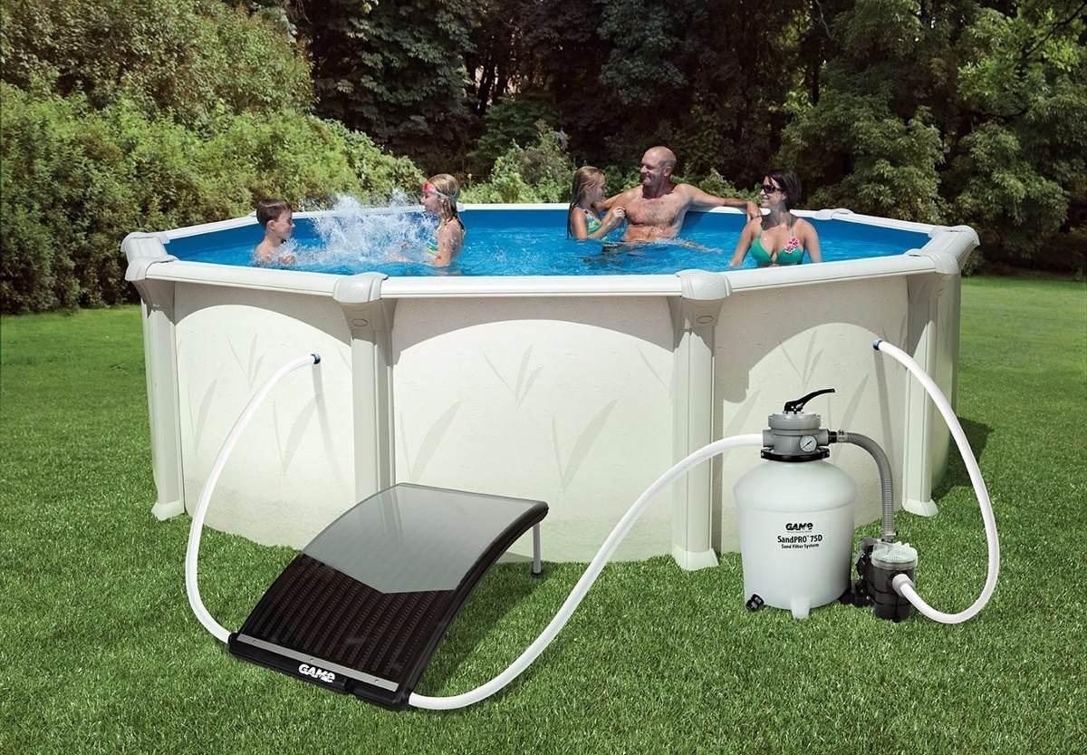 Calentador solar para piscina intex bestway 5 - How to put hot water in a swimming pool ...