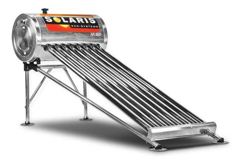 calentador solar solaris 84 litros 2 personas 8 tubos