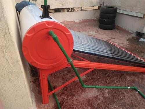 calentador solar solaris gl 18 tubos 206 lt paga a 12 msi