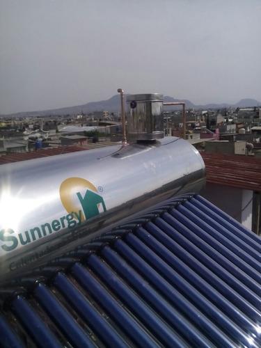calentador solar sunnergy alta presion 300 litros 28 tubos