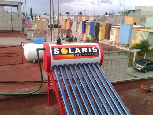 calentador solaris gl de 8 tubos 84 lt +msi