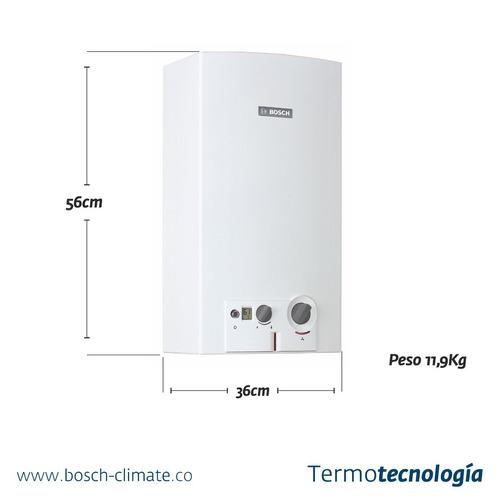 calentador therm 1000 o 13 lt marca bosch