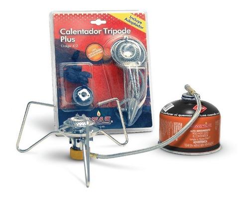 calentador trípode brogas encendido eléctrico camping pesca