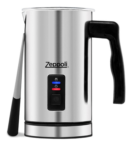 calentador y espumador automático de leche zeppoli
