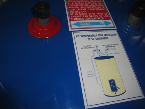 calentadores electrico marca saku metal 15 gl 220v o 110v