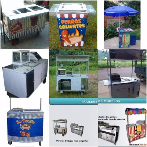 calentadores y baños de maría carros de perro calientes