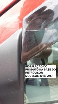 calha chuva defletor novo ka hatch sedan 2014 à 2017 tg poli