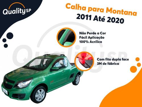 calha de chuva acrilica montana 2011 até 2020 2 portas