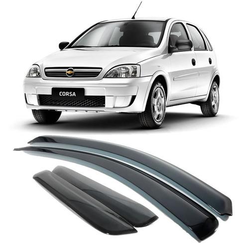 calha de chuva corsa novo hatch/sedan 4 p ano 2002 até 2010