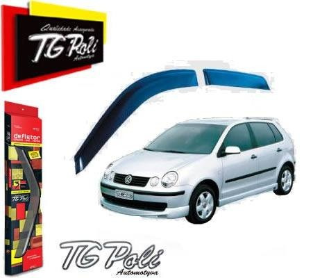 calha de chuva vw polo hatch 02/ 4p tgpoli